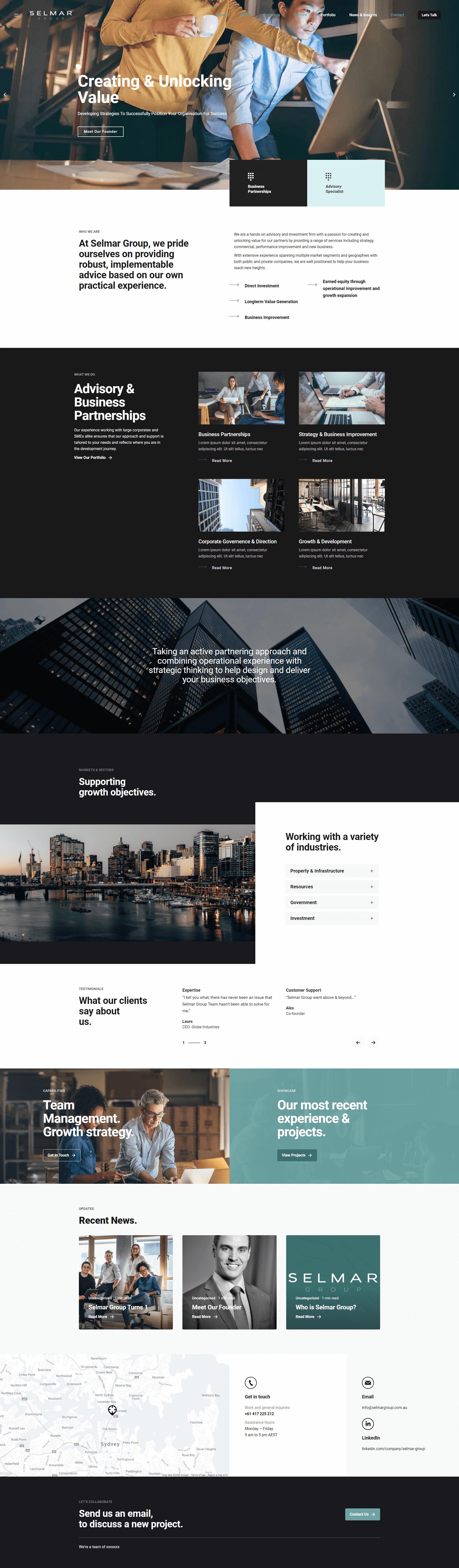 selmar-group-website-design-website-development-branding-logo